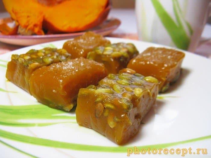 Фото рецепта - Тыквенный сладкий десерт - шаг 10