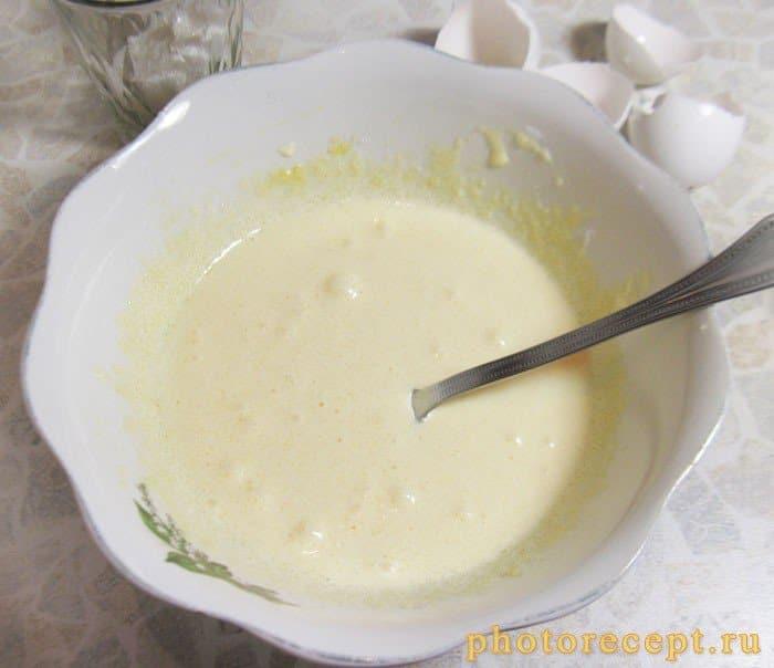 Фото рецепта - Пирог с творожно-сырной начинкой и физалисом - шаг 2
