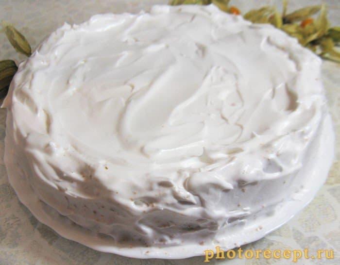 Фото рецепта - Пирог с творожно-сырной начинкой и физалисом - шаг 10