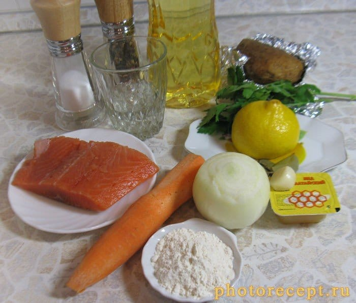 Фото рецепта - Семга под кисло-сладким соусом - шаг 1