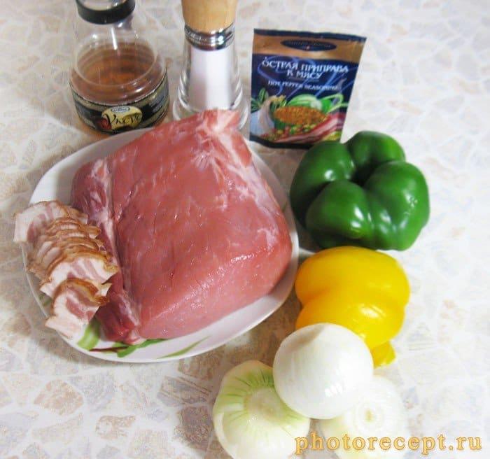Фото рецепта - Шашлык из свинины, маринованный в уксусе - шаг 1