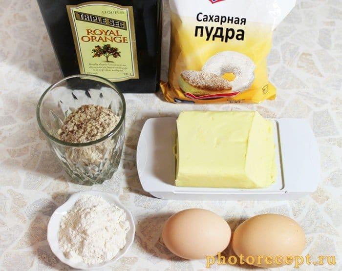 Фото рецепта - Пирог с франжипаном и ежевикой - шаг 1