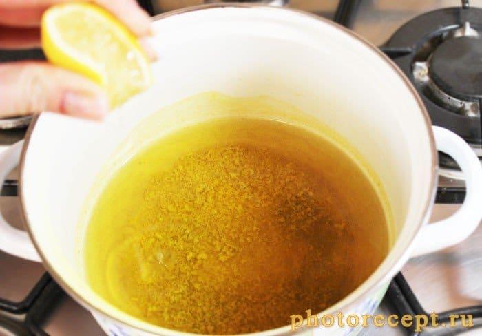 Фото рецепта - Апельсиновый сладкий соус с цедрой к блинчикам и оладушкам - шаг 4