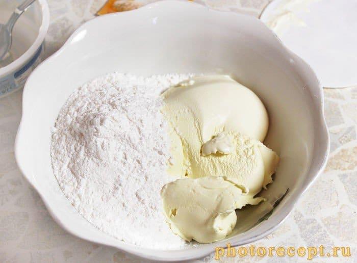 Фото рецепта - Маковый торт с маскарпоне - шаг 8