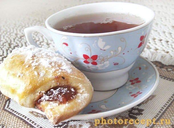 Ягодный пирог из дрожжевого теста рецепт пошагово