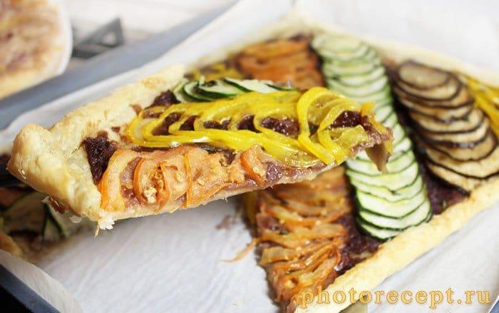 Фото рецепта - Овощной пирог Бернара - шаг 7