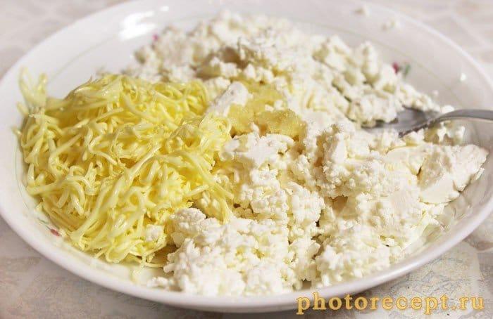 Фото рецепта - Сырная закуска с помидорами черри - шаг 4