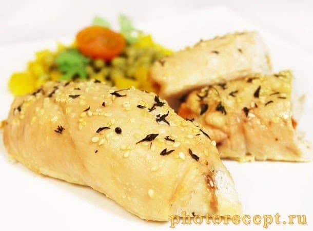 Куриные крученики с помидорами и сыром - рецепт с фото