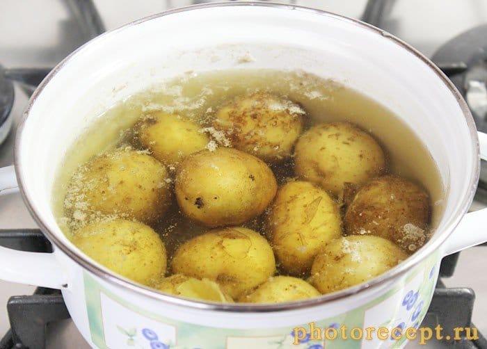 Фото рецепта - Пикантная форель, запеченная с овощами в духовке - шаг 1