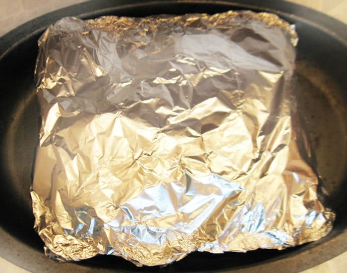 Фото рецепта - Запеченная свинина с яблоками в духовке - шаг 4