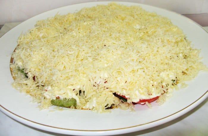 Еврейский салат из кабачков