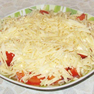 Салат из помидоров с сыром - рецепт с фото