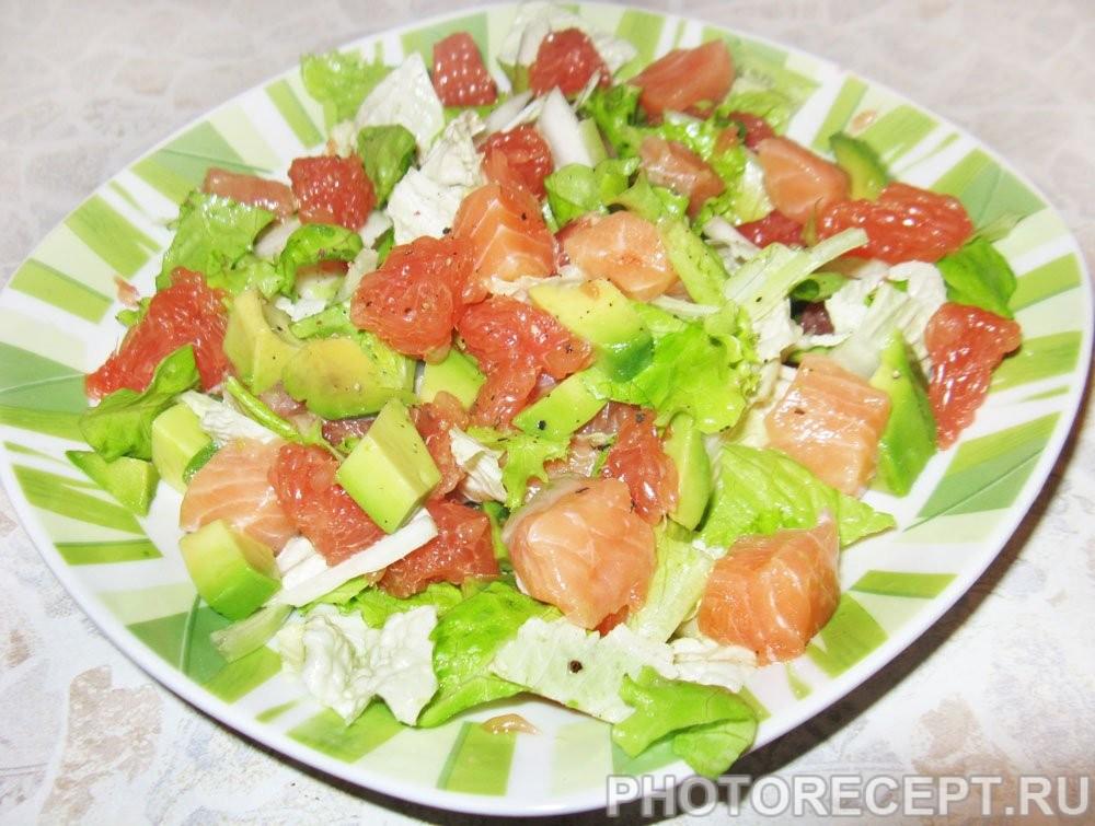 салат с семги рецепты