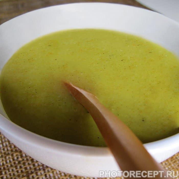 Овощной суп пюре с брокколи и цветной капустой