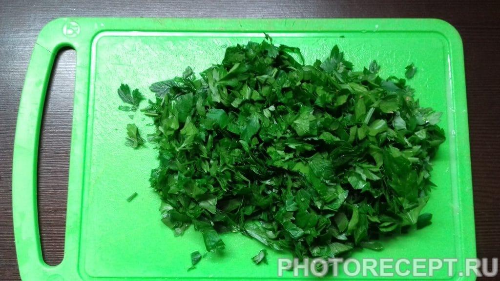Фото рецепта - Сытный рассольник на манной крупе - шаг 9