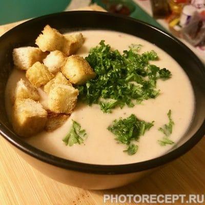 Картофельный крем-суп - рецепт с фото