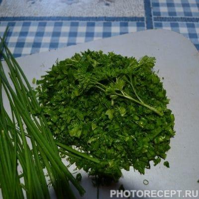Фото рецепта - Быстрая окрошка на сыворотке - шаг 5