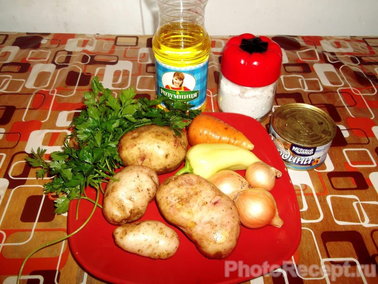 суп с консервированной скумбрией в масле рецепт