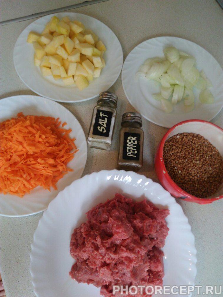 Фото рецепта - Подлива из фарша с овощами — быстро и легко - шаг 1