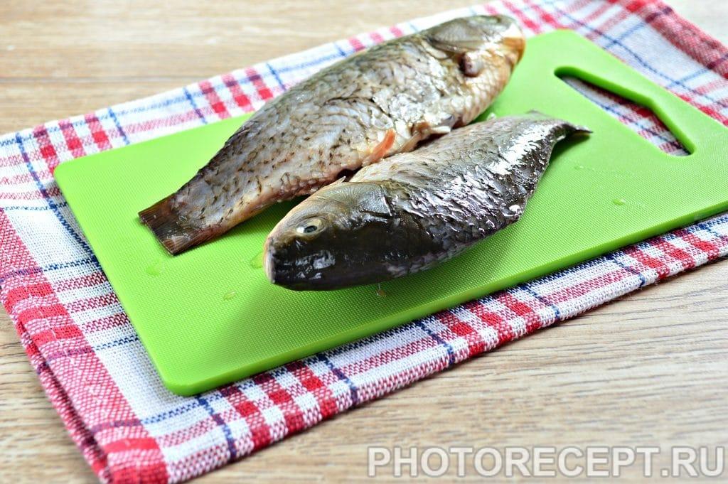 Фото рецепта - Рыба жареная в майонезе на сковороде - шаг 1