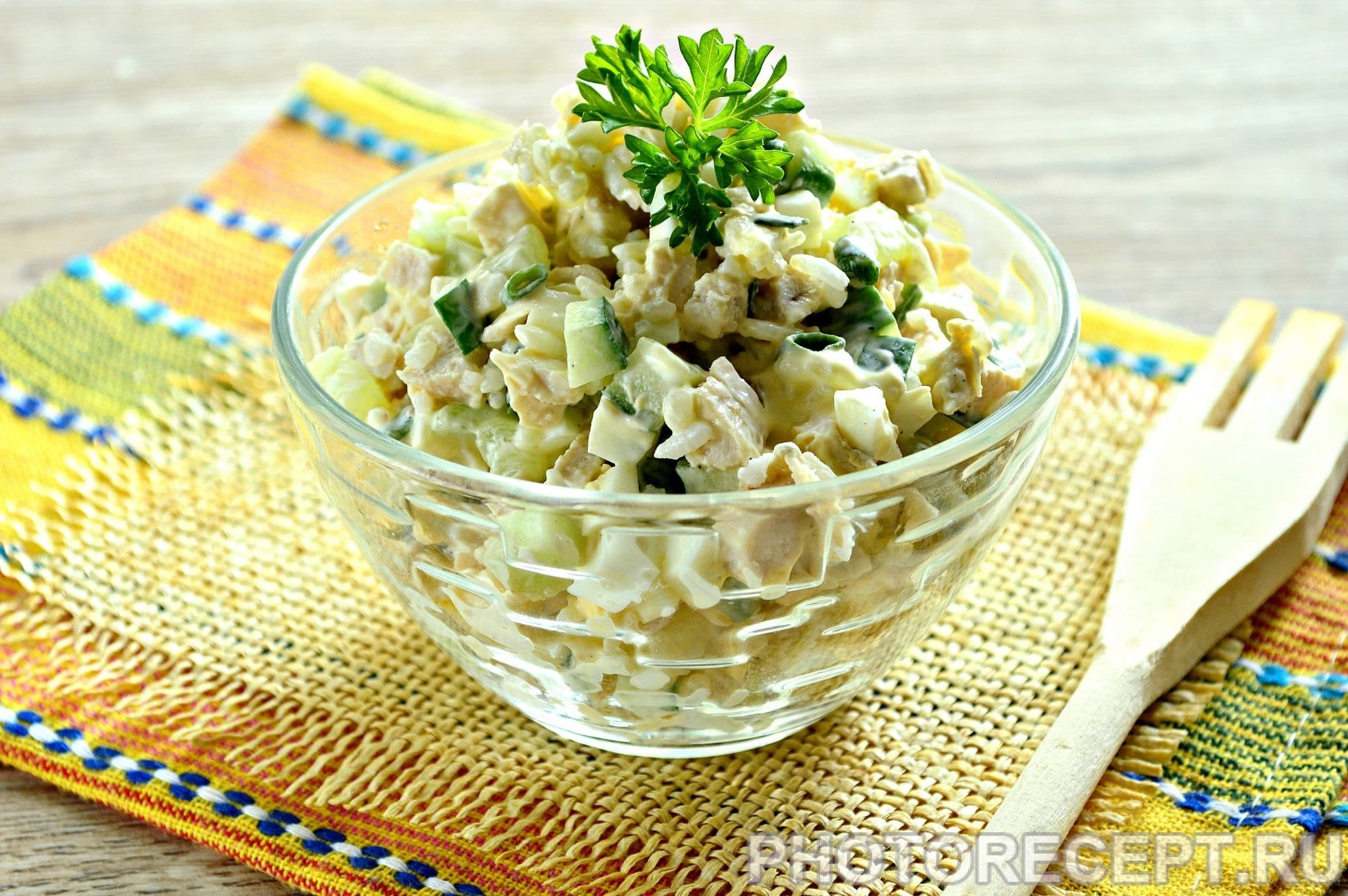 Салат чикаго рецепт пошагово