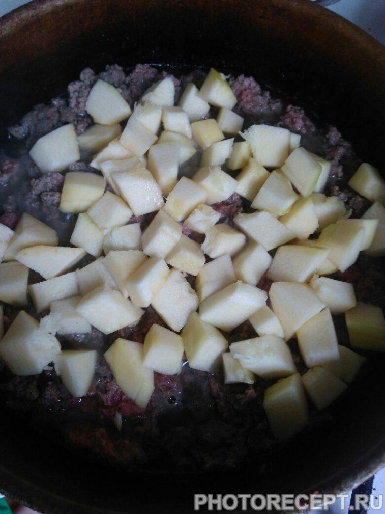 Фото рецепта - Подлива из фарша с овощами — быстро и легко - шаг 2
