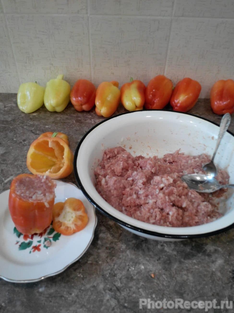 Перец фаршированный для ребенка рецепт