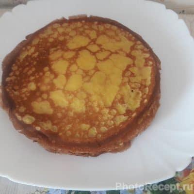 Фото рецепта - Сладкие ванильные блины к чаю - шаг 5