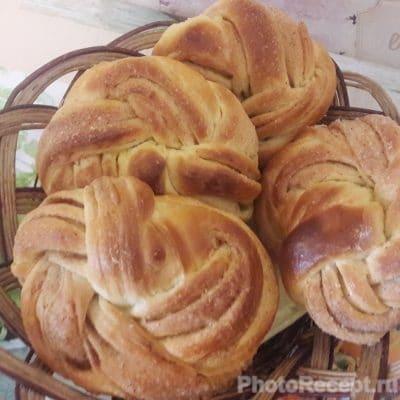 Вкуснейшие булочки с корицей - рецепт с фото