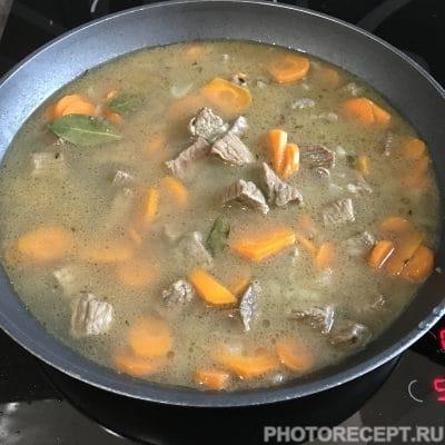 Фото рецепта - Нежный плов из говядины - шаг 4