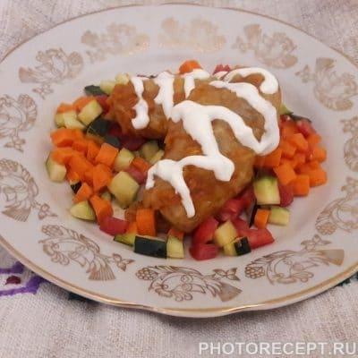 Голубцы в мультиварке в томатно-сметанном соусе - рецепт с фото