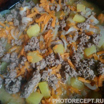 Фото рецепта - Подлива из фарша с овощами — быстро и легко - шаг 3