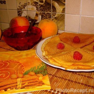 Ажурные блинчики на завтрак - рецепт с фото