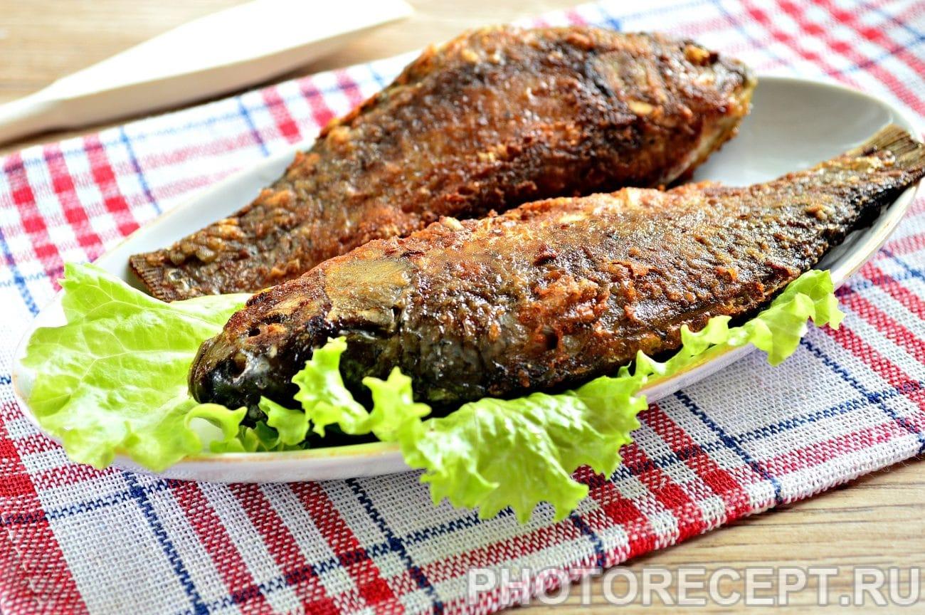 Рыба жареная в майонезе на сковороде
