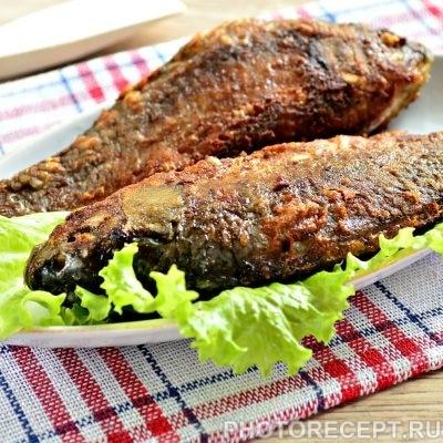 Рыба жареная в майонезе на сковороде - рецепт с фото