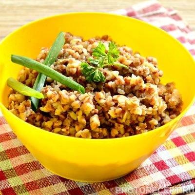 Гарнир из гречки рецепт пошагово