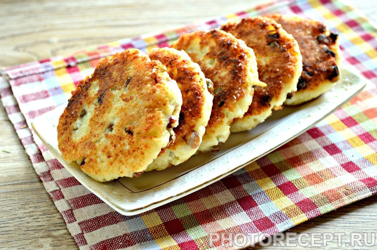 Сырники из творога - Пошаговый рецепт с фото Десерты 64