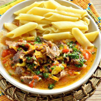 Овощное рагу с бараниной - рецепт с фото