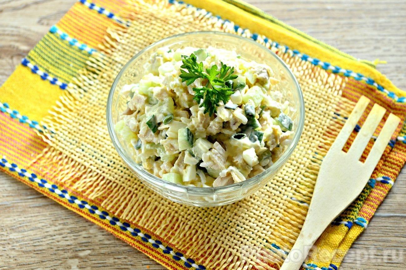 Салат русская красавица рецепт пошаговый с куриной грудкой