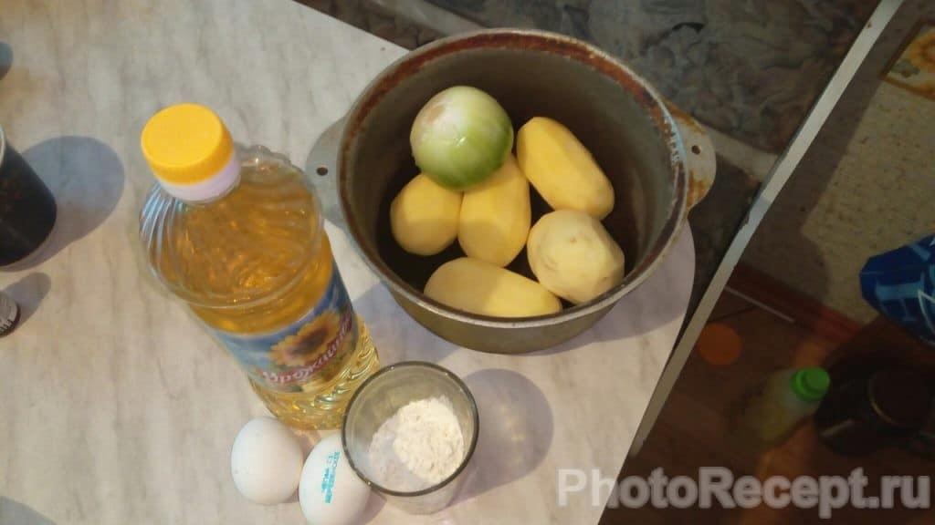 Фото рецепта - Картофельные драники  по-домашнему - шаг 1
