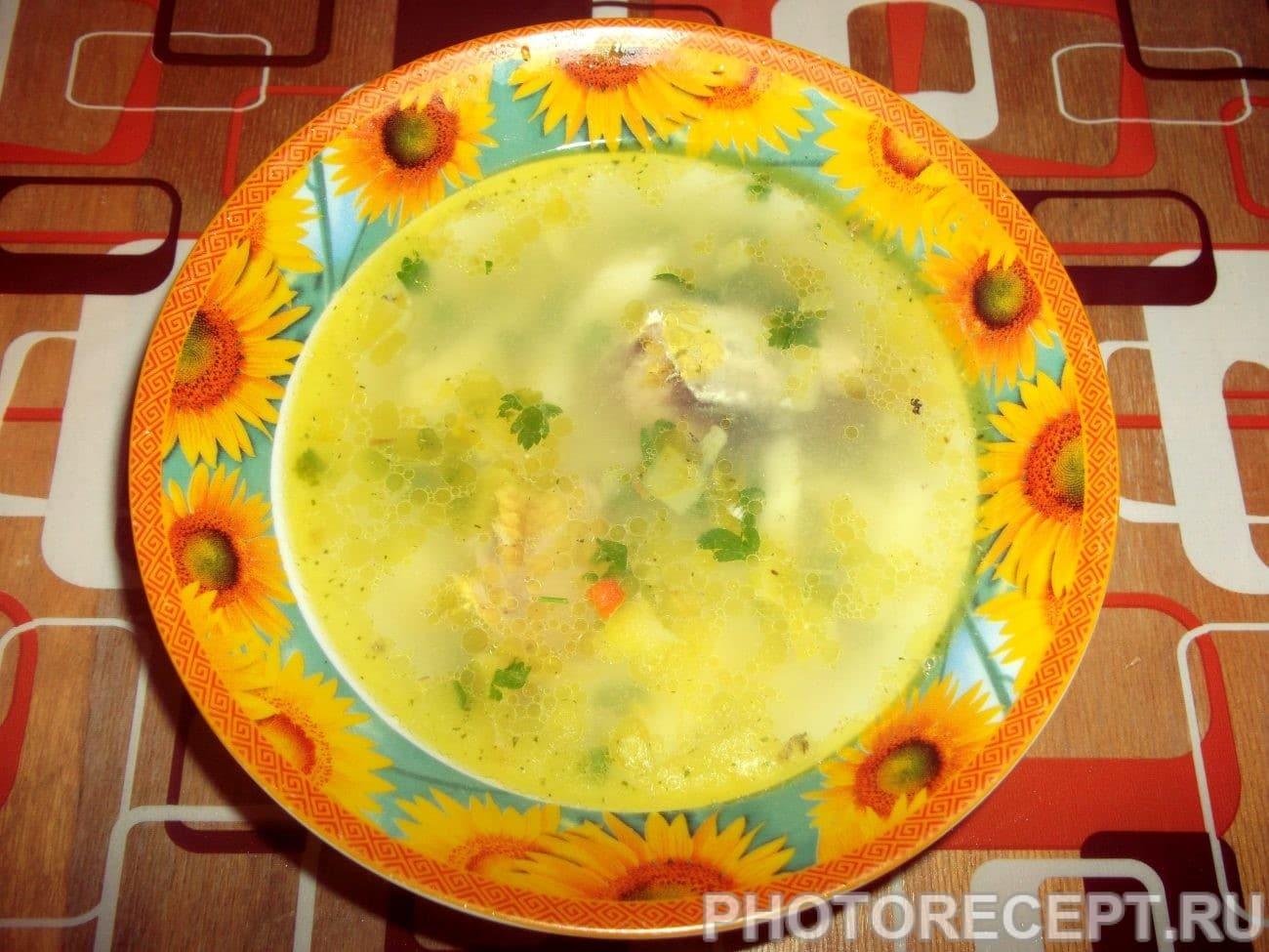 Суп из рыбы пошагово