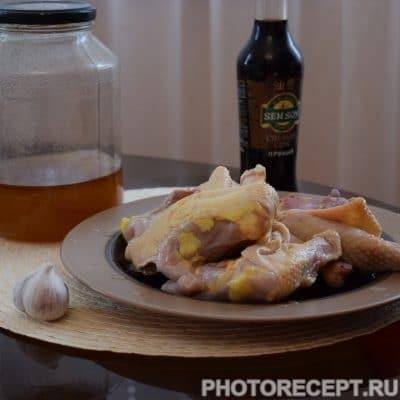 Фото рецепта - Куриные бёдрышки в соевом соусе - шаг 1