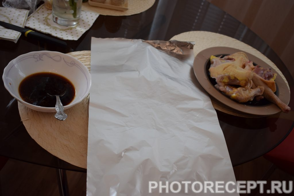 Фото рецепта - Куриные бёдрышки в соевом соусе - шаг 4