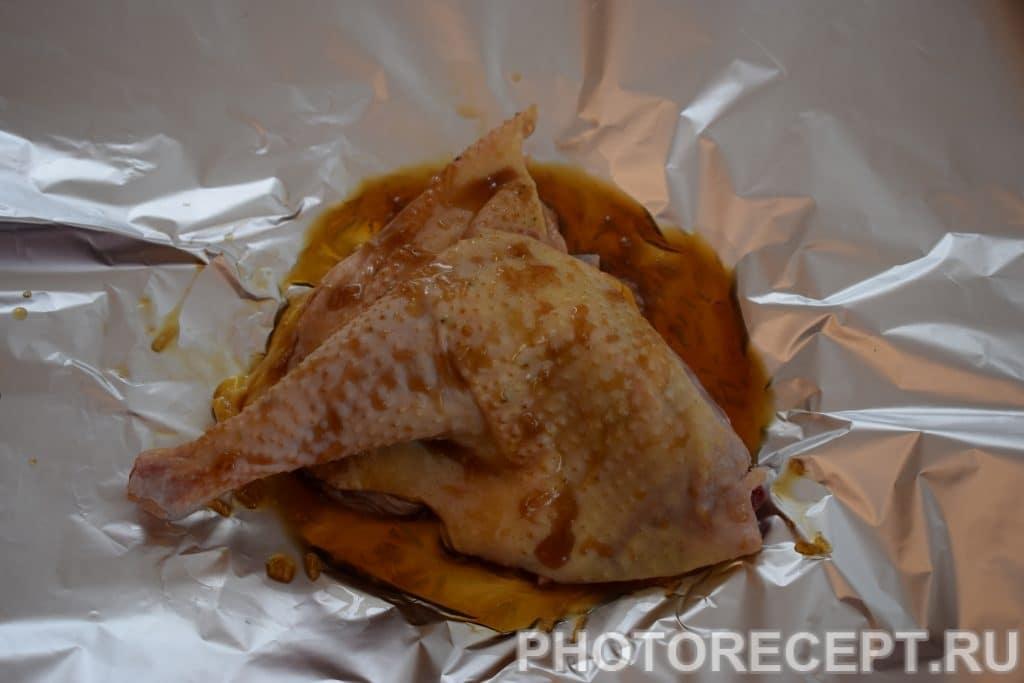 Фото рецепта - Куриные бёдрышки в соевом соусе - шаг 5