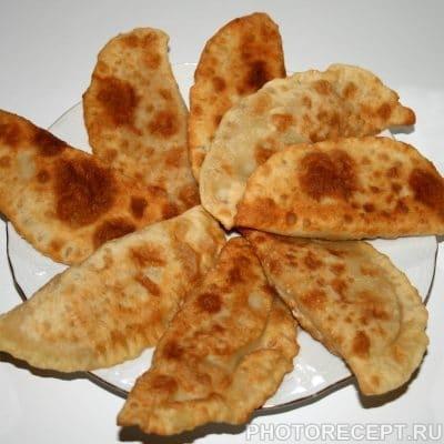 Вкусные чебуреки из индюшиного фарша - рецепт с фото