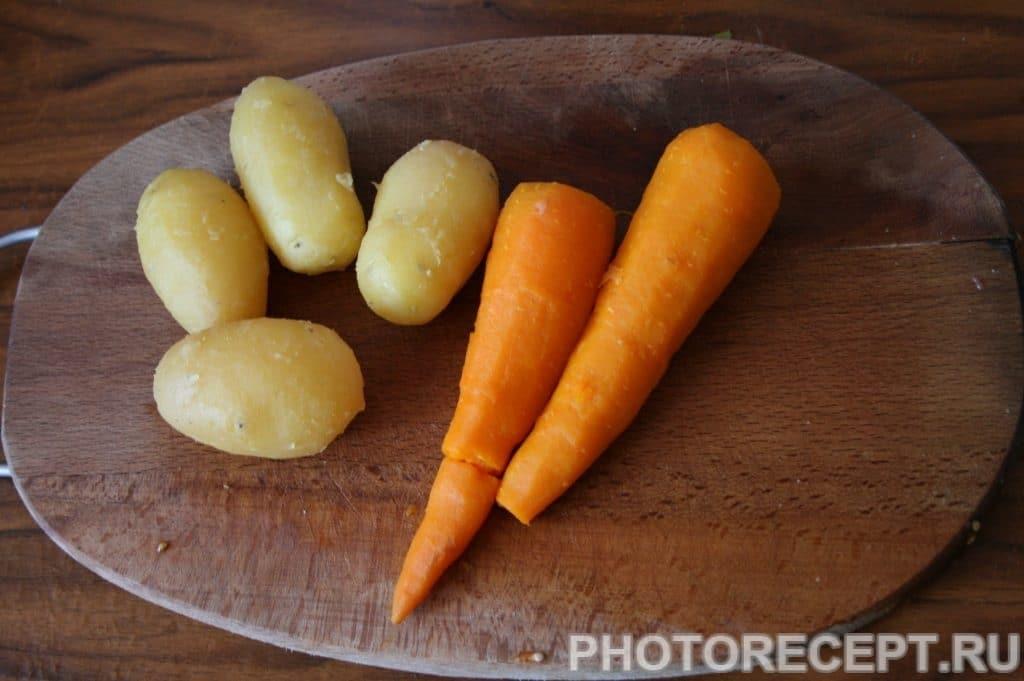 Фото рецепта - Салат с креветками оригинальный - шаг 6