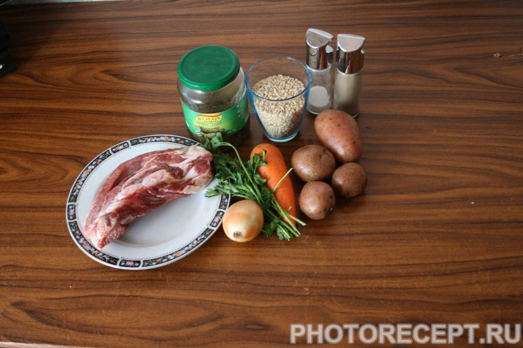 Фото рецепта - Рассольник классический на мясном бульоне - шаг 1