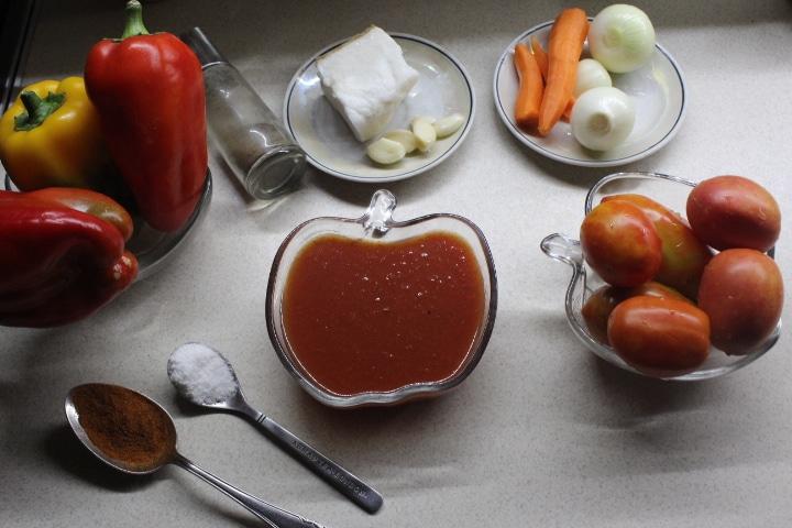 Фото рецепта - Настоящее венгерское лечо - шаг 1