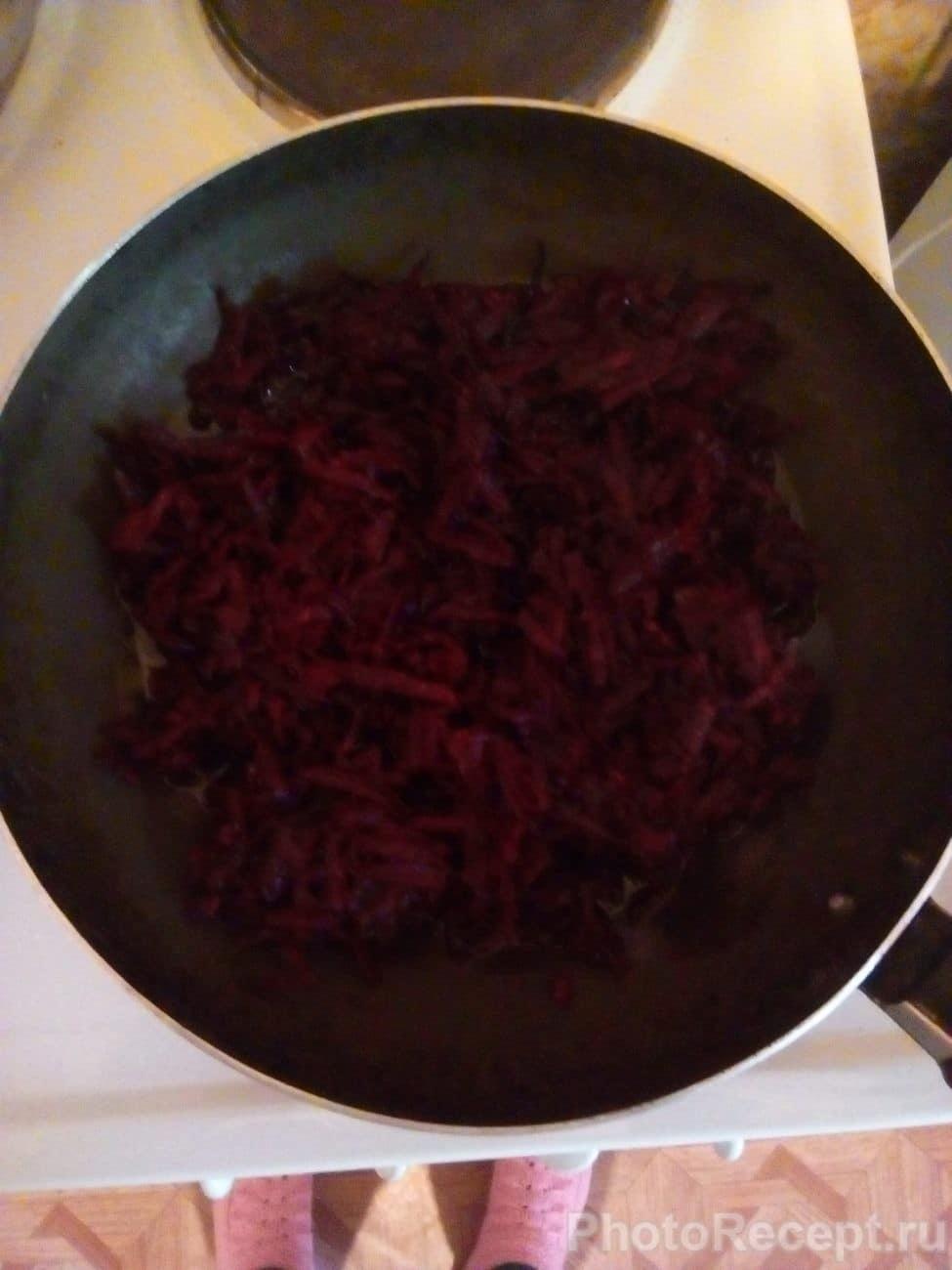 Рецепт и пошагово борща со свеклой