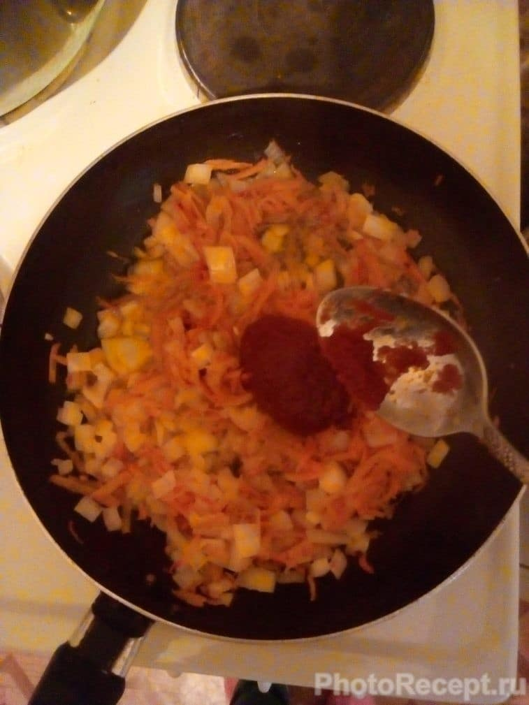 Фото рецепта - Вкусный борщ из курицы со свеклой - шаг 9